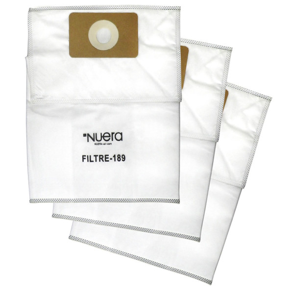 Sacs de filtration haute efficacité 12 litres (paquet de 3)