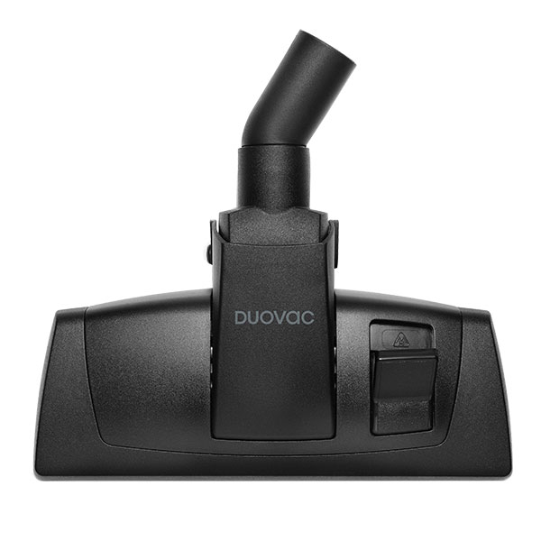 Duovac Floor/Carpet Combo Brush With Metal Base